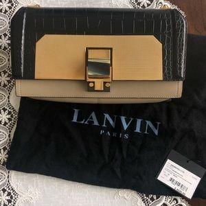 Authentic beautiful new Lanvin clutch purse